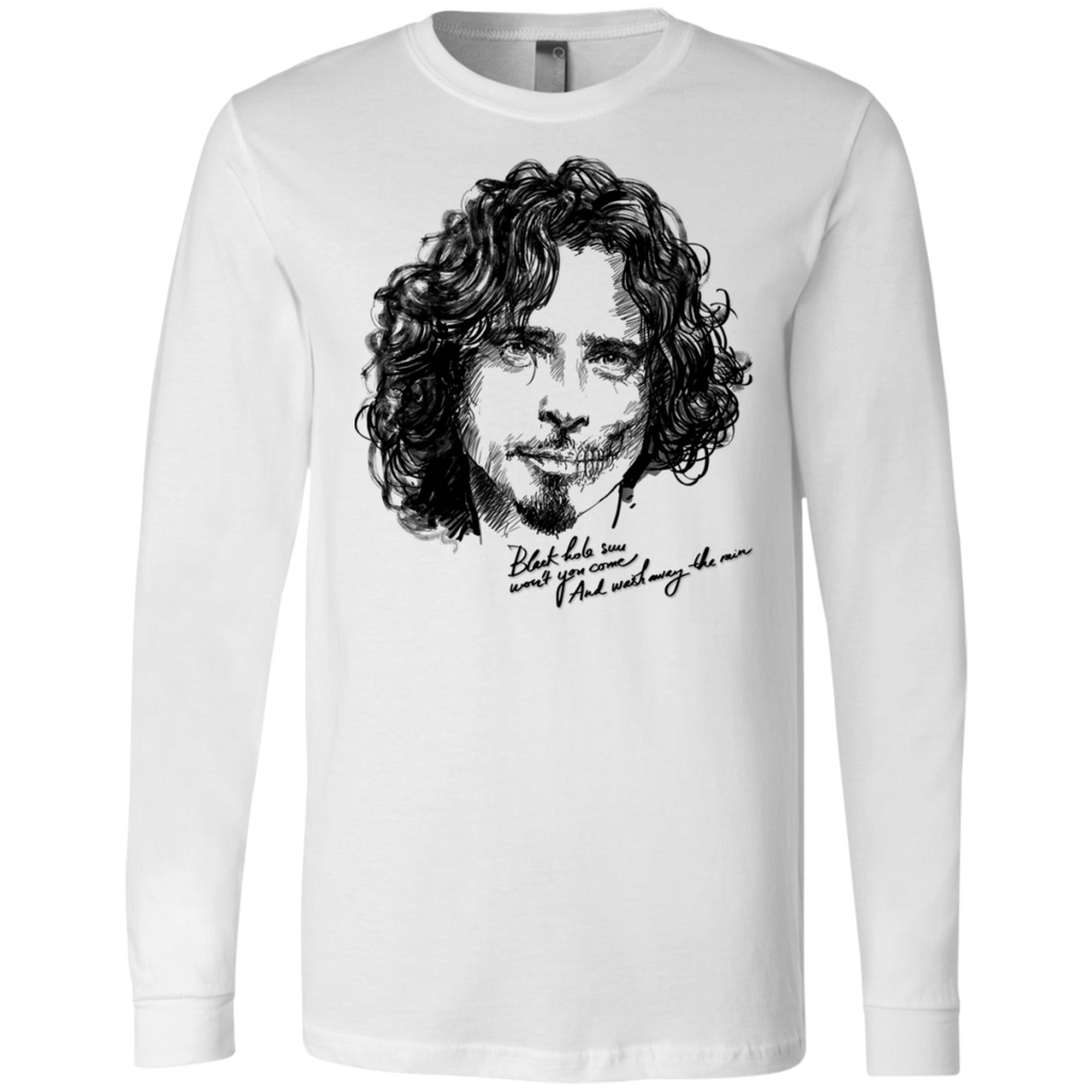 Chris Cornell Canvas Long Sleeves T-Shirt