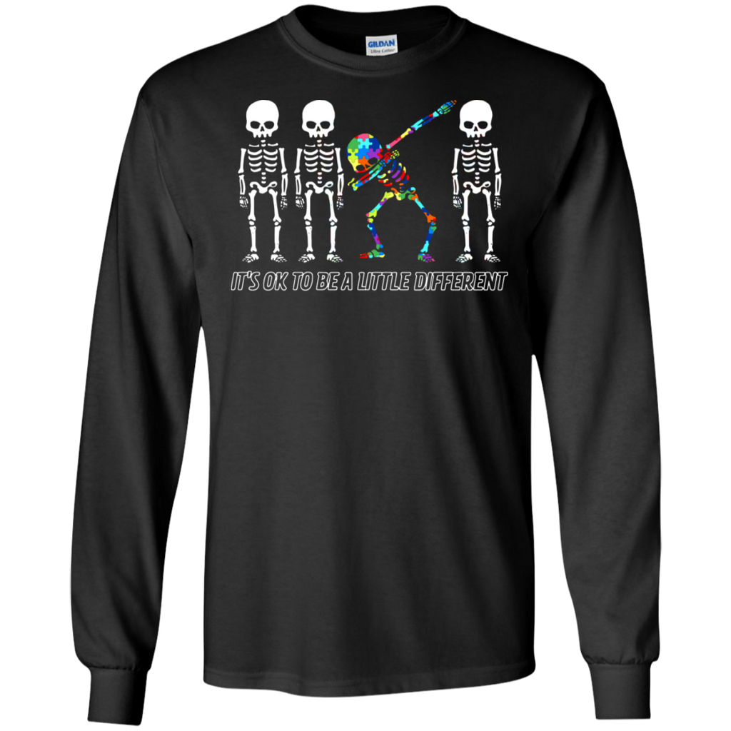 AGR Dare to be yourself Autism Awareness - It's ok to be a little different shirt