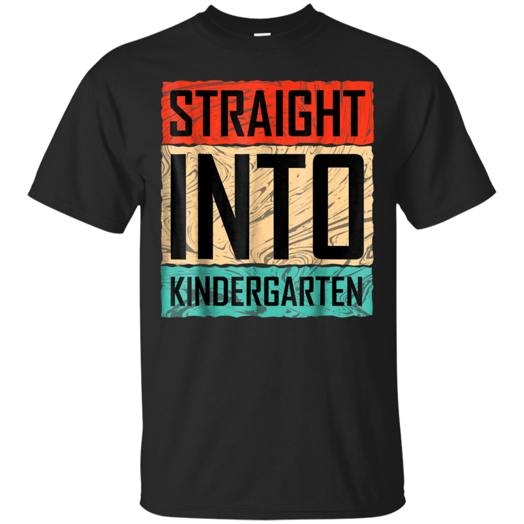 AGR Back To School Straight Into Kindergarten T Shirt