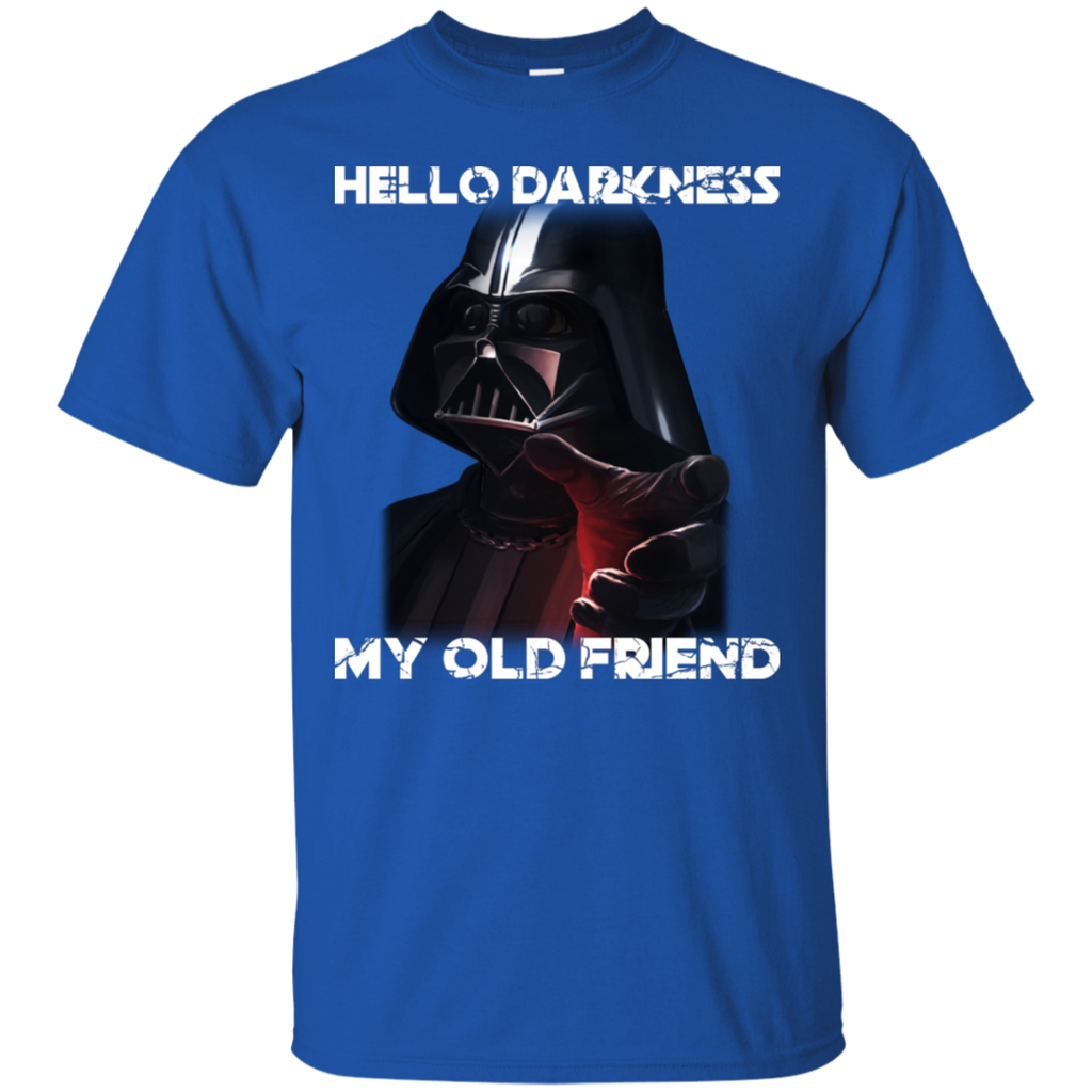 AGR Darth Vader Hello Darkness My Old Friend Shirt