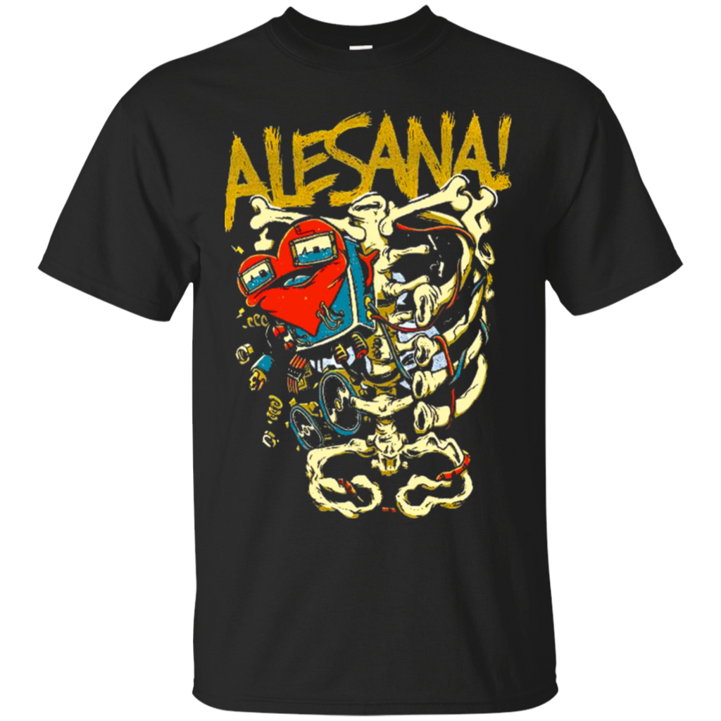 Alesana Men's Skeleton Heart T-Shirt