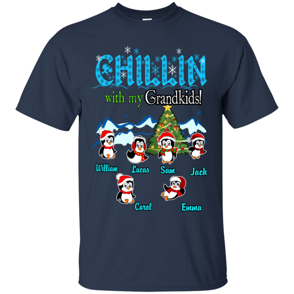 AGR Chillin with my grandkids christmas shirt