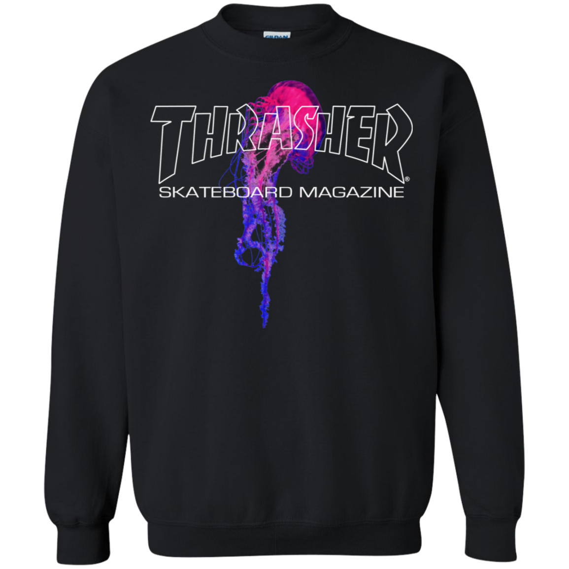 fe375b9b00fd Thrasher Magazine Atlantic Drift Pullover Sweatshirt - AGREEABLE