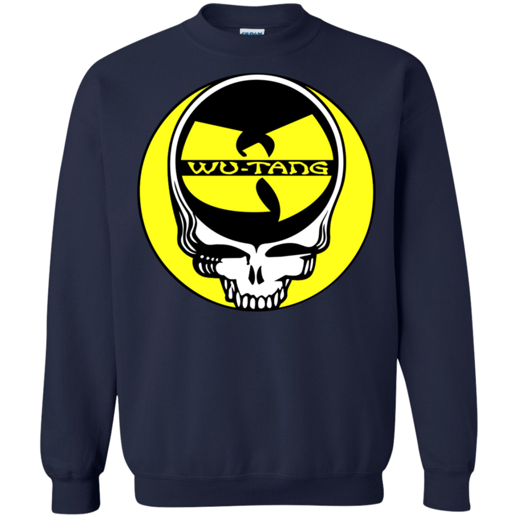 Steal Your Face Wu Tang Clan Band Skull Pullover Sweatshirt