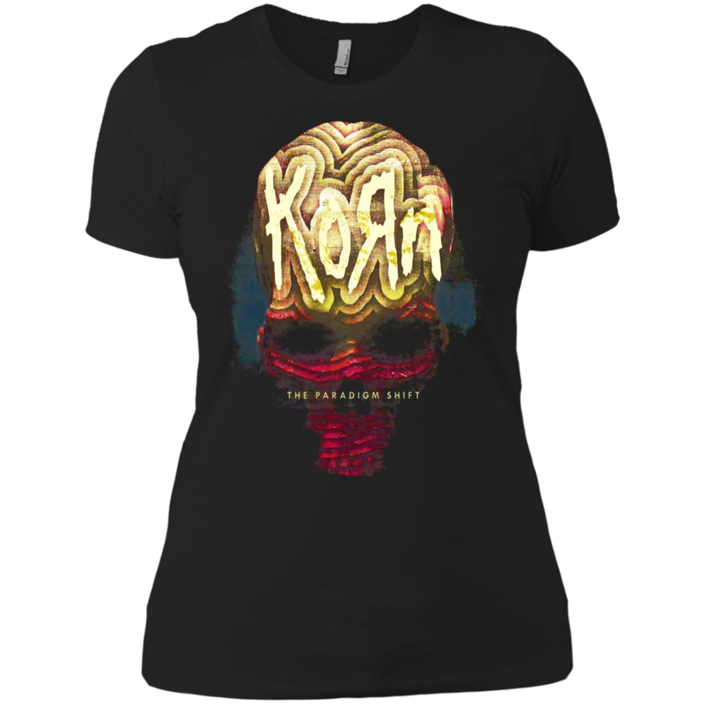 Korn The Paradigm Shift Jonathan Davis Nu Metal Ladies Premium T-Shirt