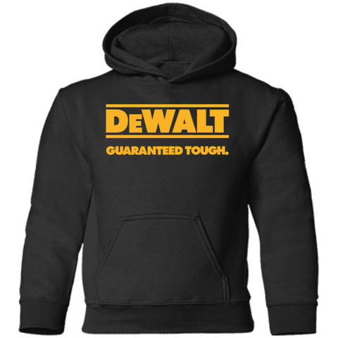 Dewalt Guaranteed Though AGR Dewalt Guaranteed Though Toddler Pullover Hoodie