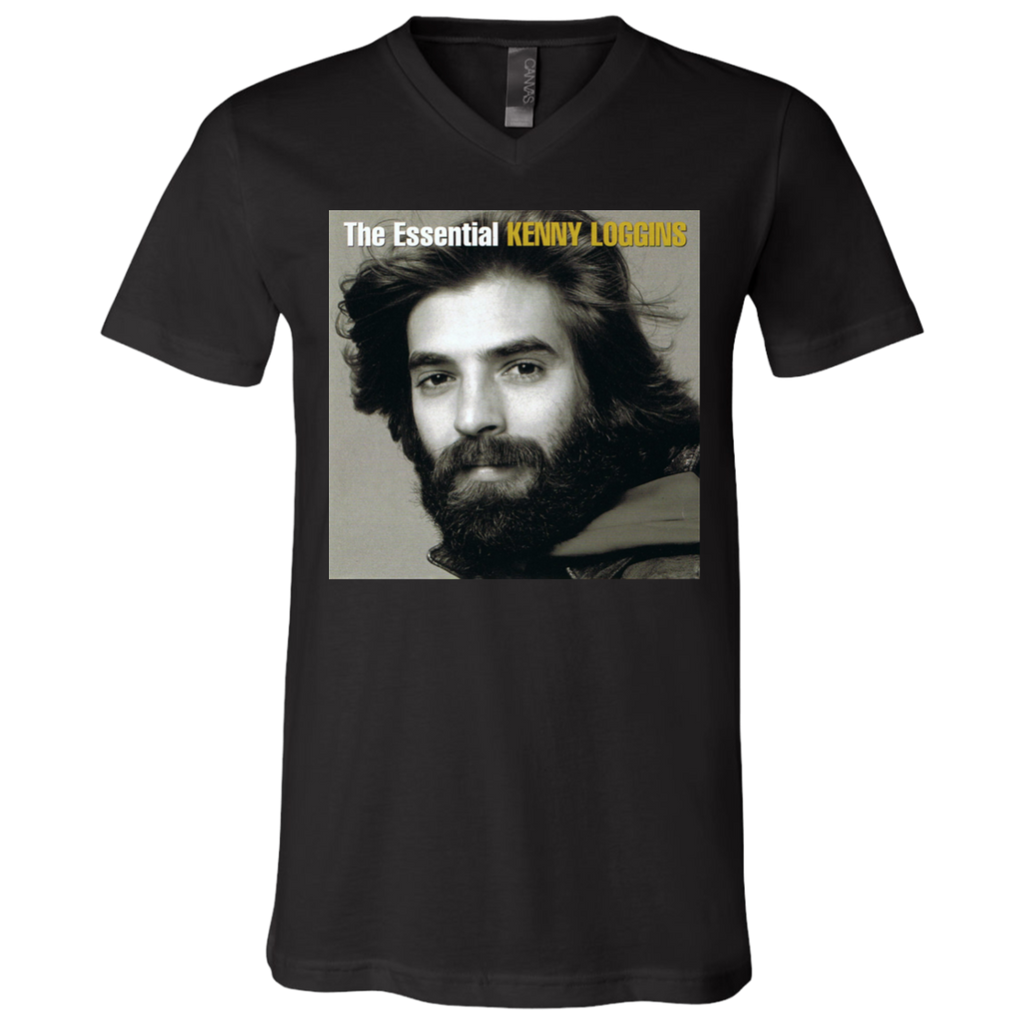 Kenny Loggins The Essential Kenny V-Neck T-Shirt