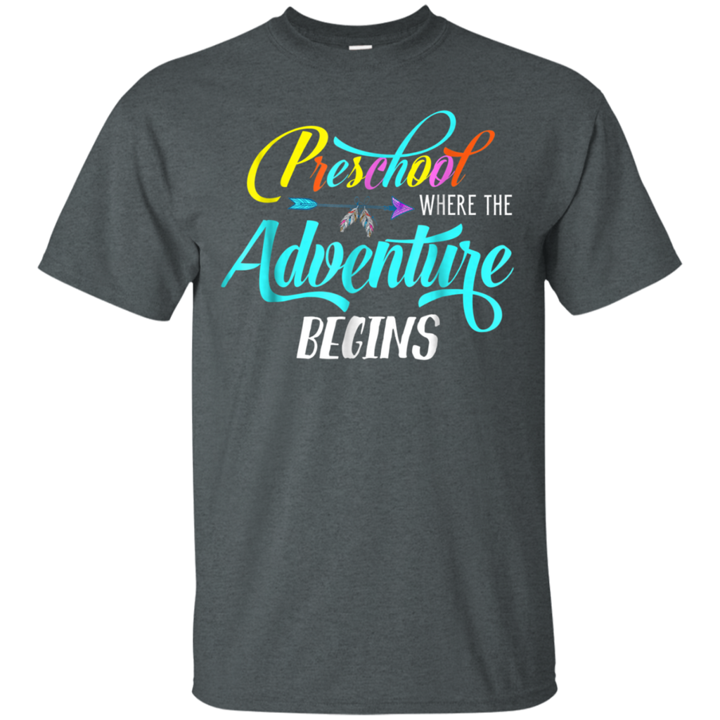 AGR Back To School Preschool Where the Adventure Begins Shirt