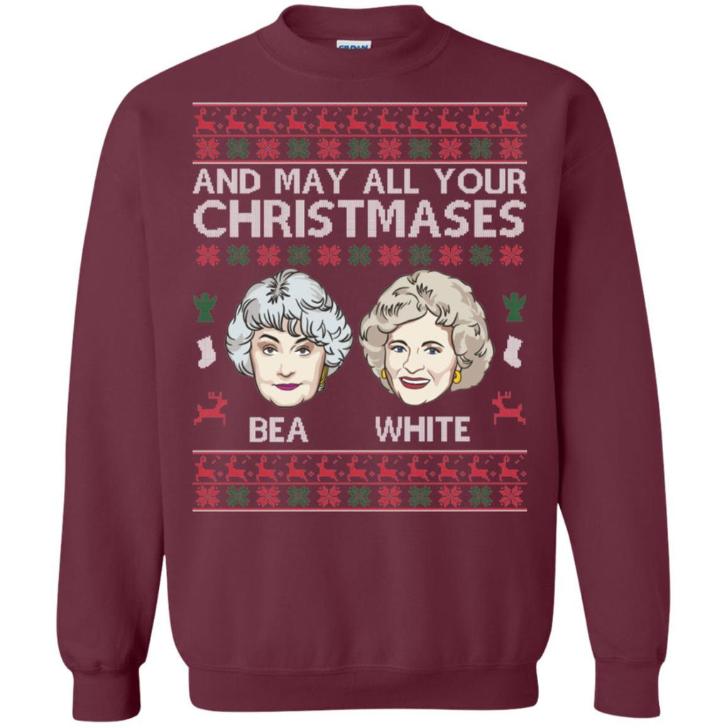 AGR Golden Girls And May All Your Christmases Bea White