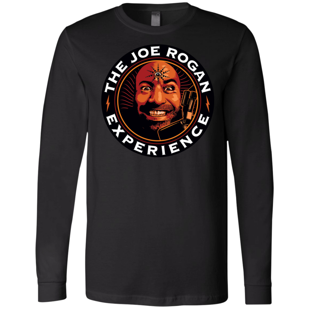 The Joe Rogan Experience Canvas Long Sleeves T-Shirt