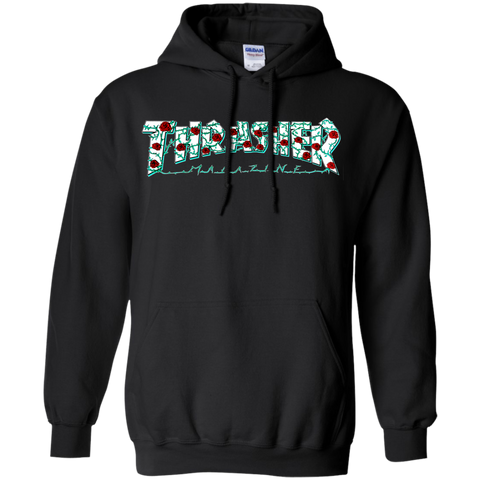 Thrasher Magazine Roses Pullover Hoodie