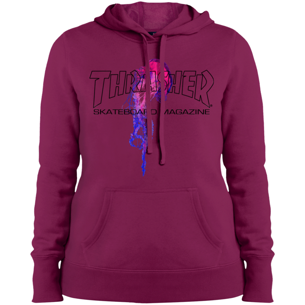 Thrasher Magazine Atlantic Drift White Ladies Pullover Hoodie