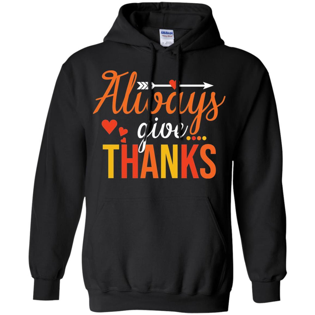 AGR Always Give Thanks Thanksgiving Shirt