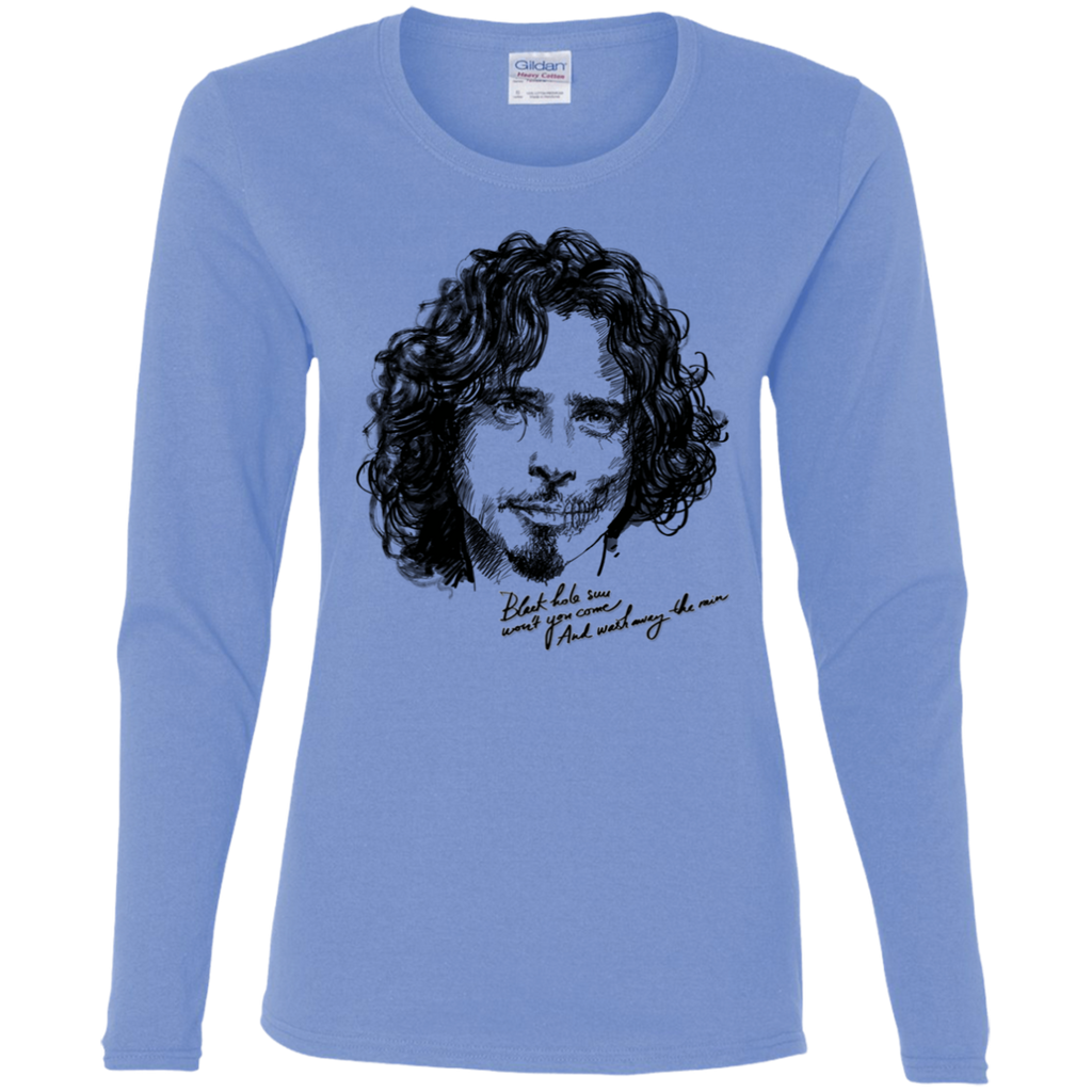 Chris Cornell Ladies LS T-Shirt