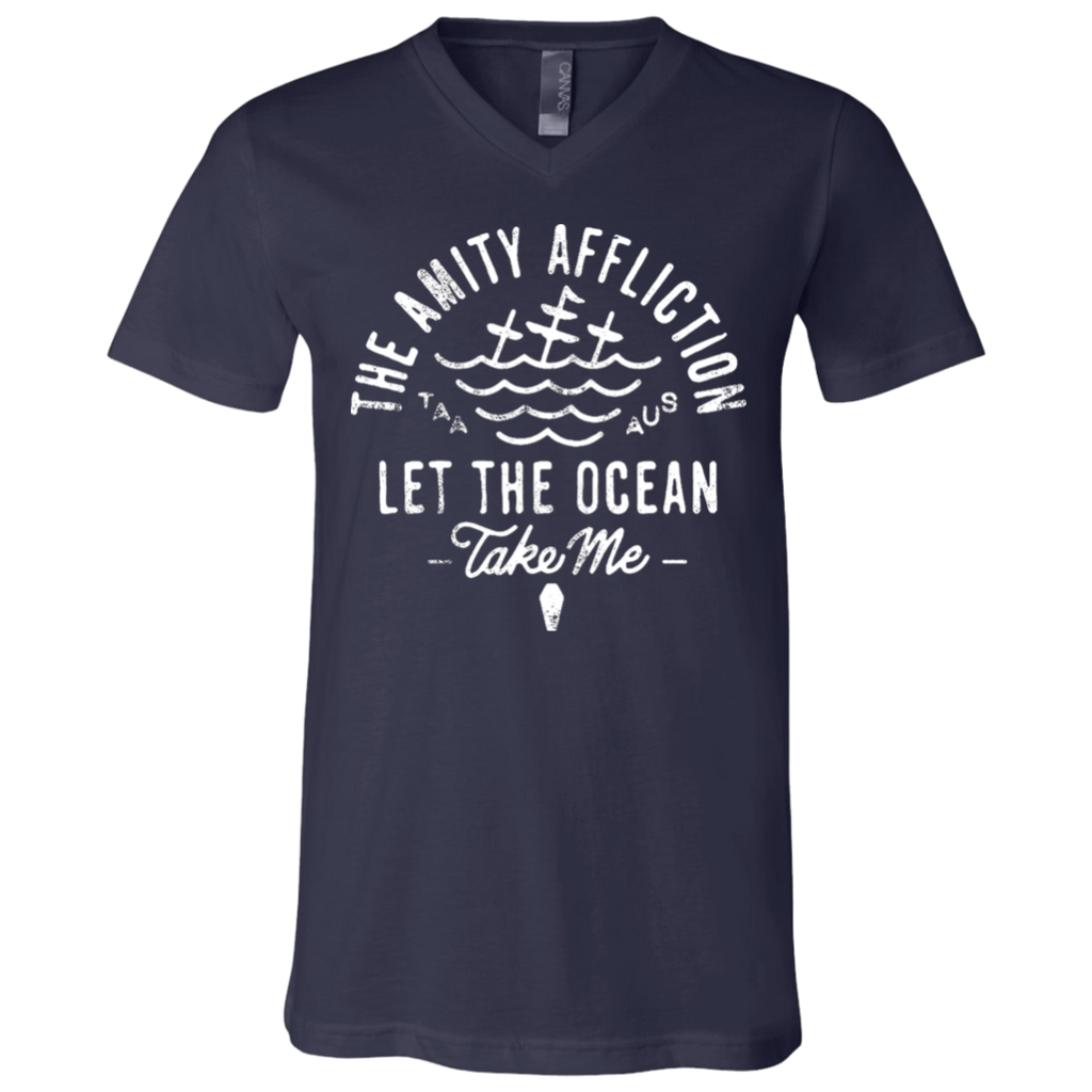 The Amity Affliction Let the Ocean take me V-Neck T-Shirt