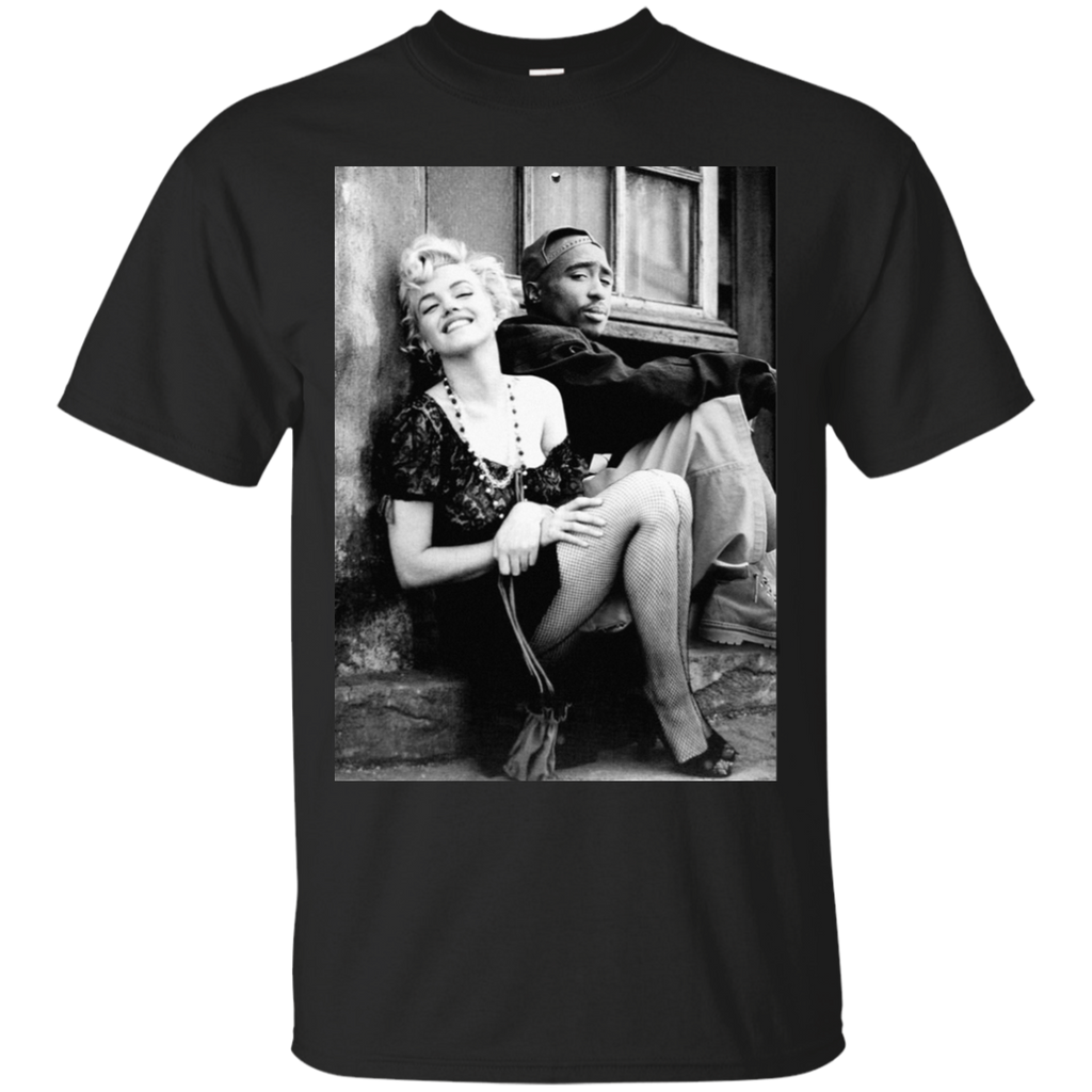 Tupac Marilyn Monroe Couple T-Shirt