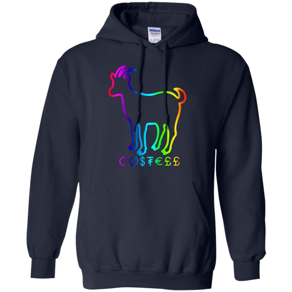 Hountersimile Ladies Erika Costell Sheep Simple Style Pullover Hoodie