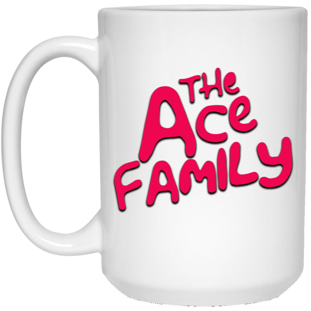 Womens ACE Family White Big Mug