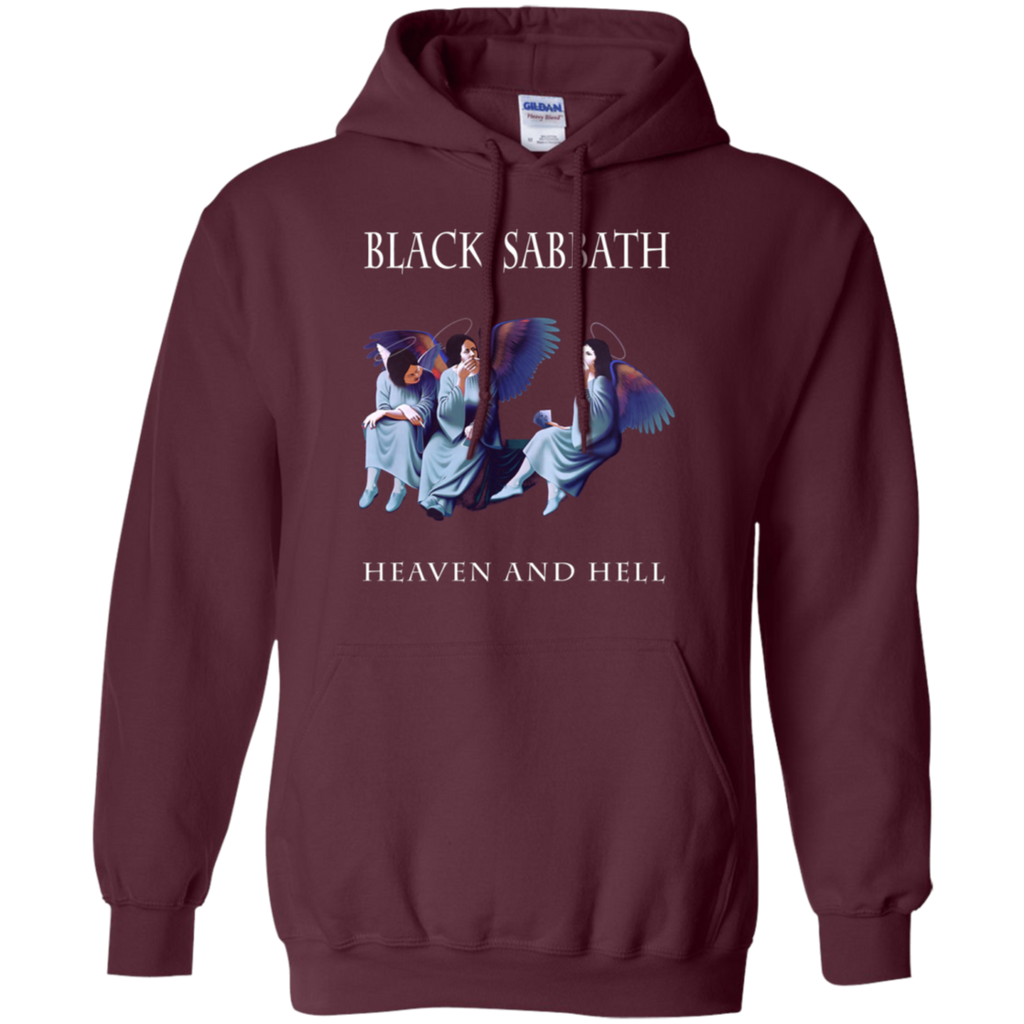 Black Sabbath heaven and hell'80 ozzy dio rainbow heavy Pullover Hoodie