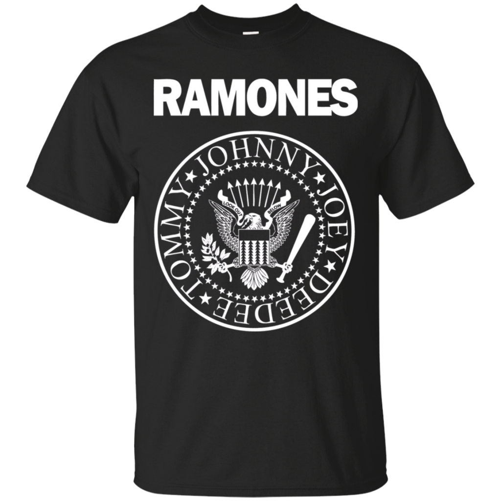Ramone Tommy Johnny Joey Deedee logo T-Shirt