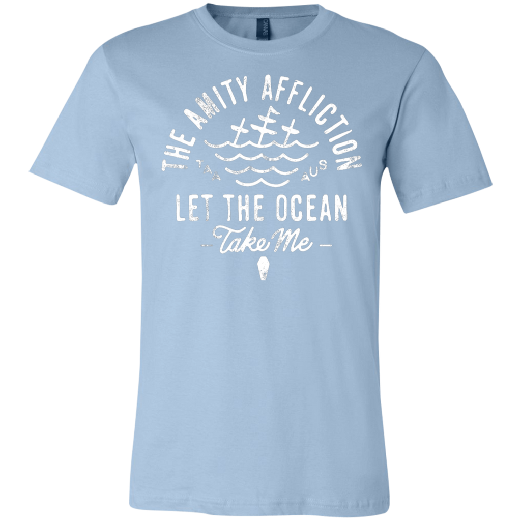 The Amity Affliction Let the Ocean take me Canvas T-Shirt
