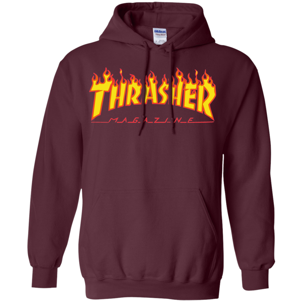 Thrasher Magazine Flame Pullover Hoodie