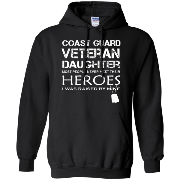 AGR Daughter Was Raised By Her Hero Coast Guard Veteran Hoodie