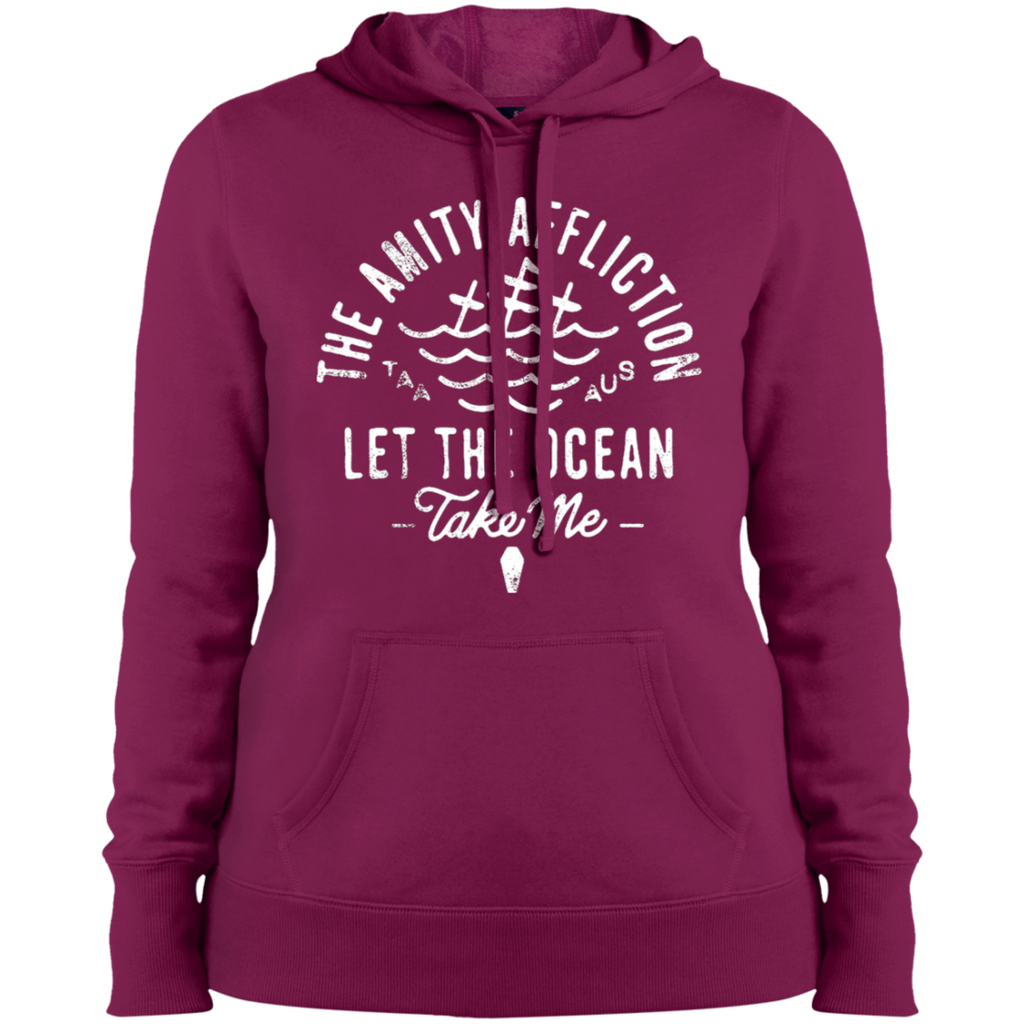 The Amity Affliction Let the Ocean take me Ladies Pullover Hoodie