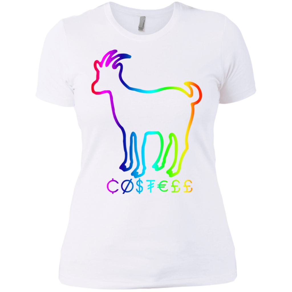 Hountersimile Ladies Erika Costell Sheep Simple Style Ladies Premium T-Shirt