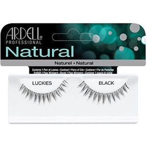 Ardell Natural Lashes, Luckies Black