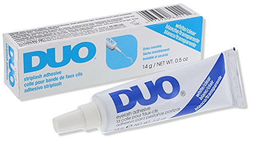 DUO Strip Eyelash Adhesive Clear, for Fake Strip Lash, 0.5 oz