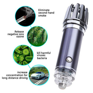 Purifu: Car Air Purifier & Ionizer