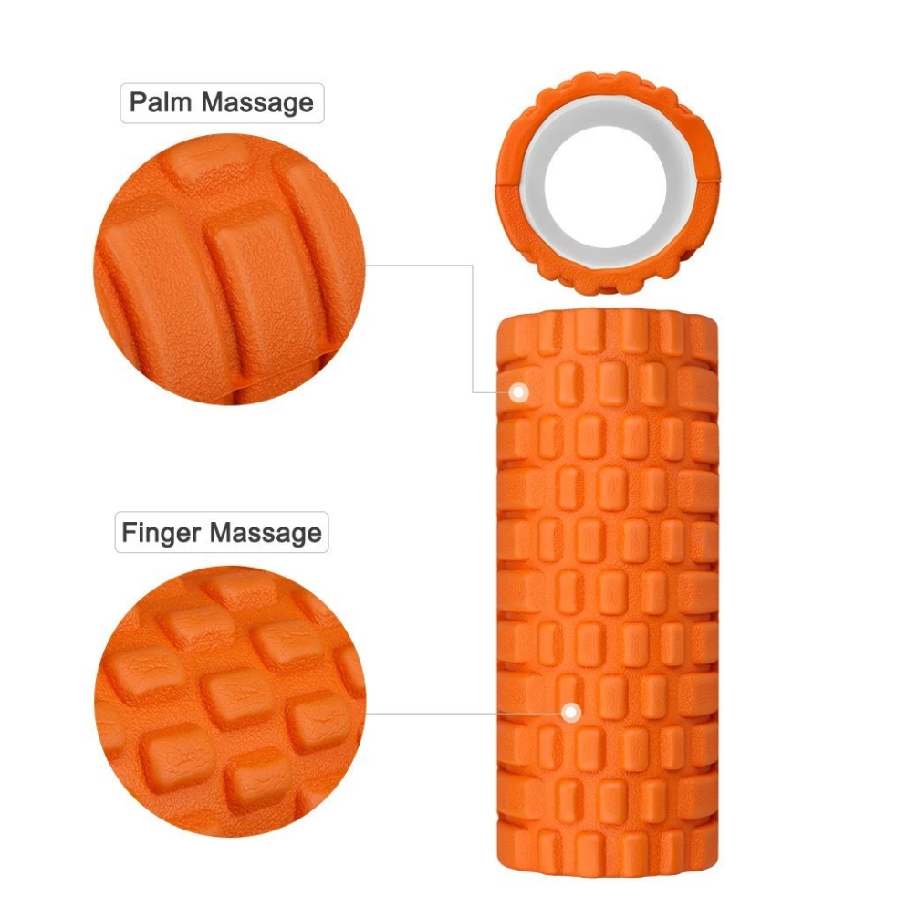 Foam Roller - Deep Tissue Massage Roller for Trigger Point Release on Muscles
