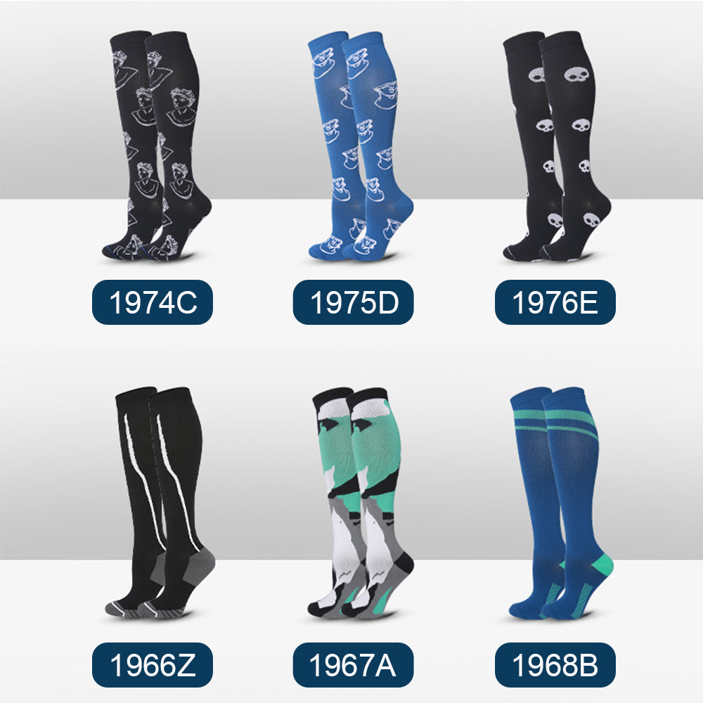 CHARMKING Compression Socks for Women & Men(50% OFF)
