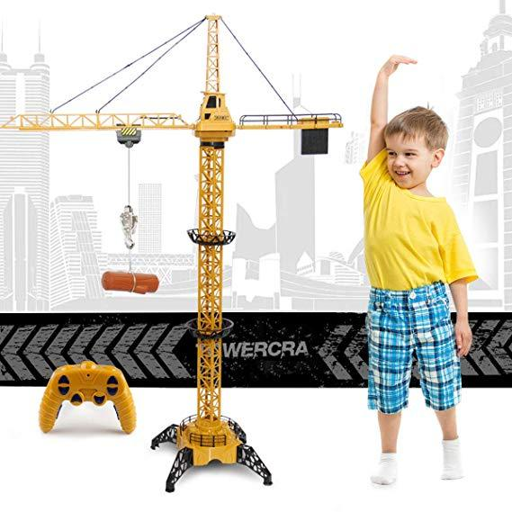 HOT SALE!!!50.4 inch Tall 2.4GHz Remote Control Tower Crane