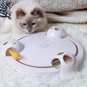 [SALE] Interactive Mouse Pounce Cat Toy
