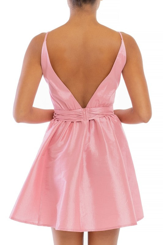 Prim and Polished Teacup Dress - Pearl Pink