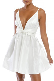 Prim and Polished Teacup Dress - Pearl White