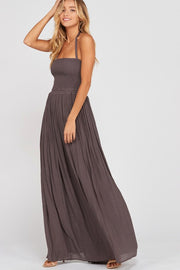 Stroke of Midnight Maxi Dress