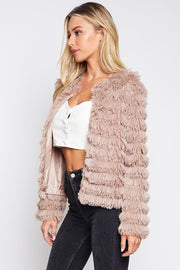 Life of Luxury Faux Fur Jacket