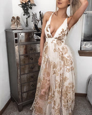 Sunkissed Floral Maxi Dress