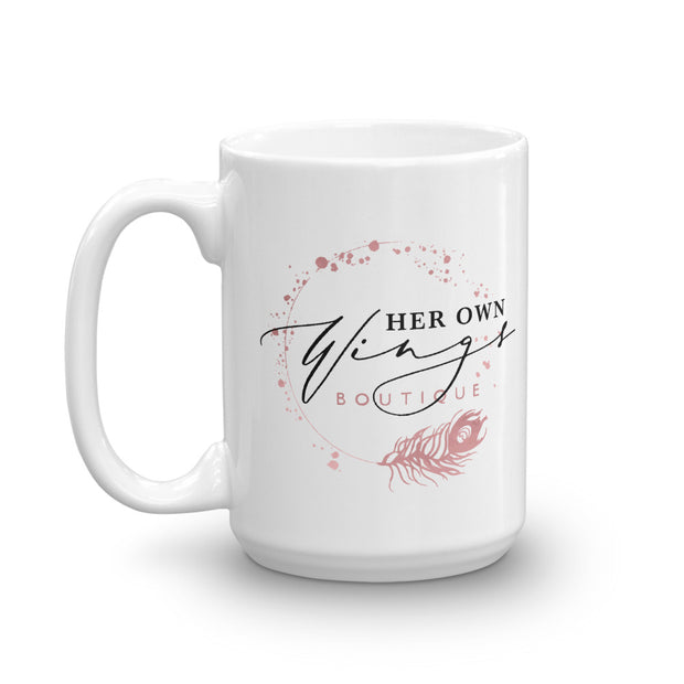 Her Own Wings Coffee Mug