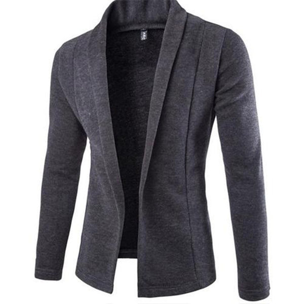 2018Autumn Men's New Cardigan V Collar Sweater Knitwear - BeZONED