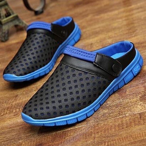2018 Summer Sandals Shoes Men Ventilative Slippers Brand Men's Casual Shoes Unisex Slippers - BeZONED