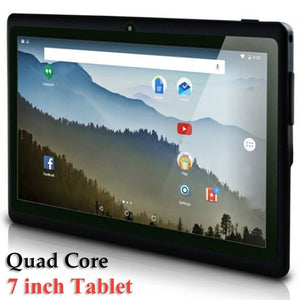 2018 New 7 Inch Tablet Computer PC Quad Core A33 WiFi Flat Computer - BeZONED