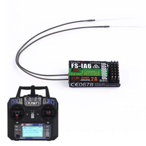 4.0-6.5 DC Flysky 2.4G 6Channels Receiver PPM Output for Flysky iA6 RC Glider - BeZONED
