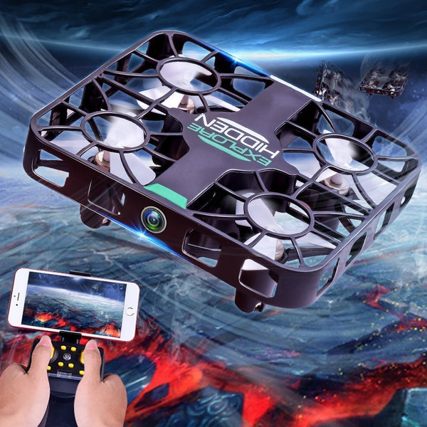 2018 New Helicopter Radio Remote Control Auto-Fllow Facial Fecognition HD Camera - BeZONED