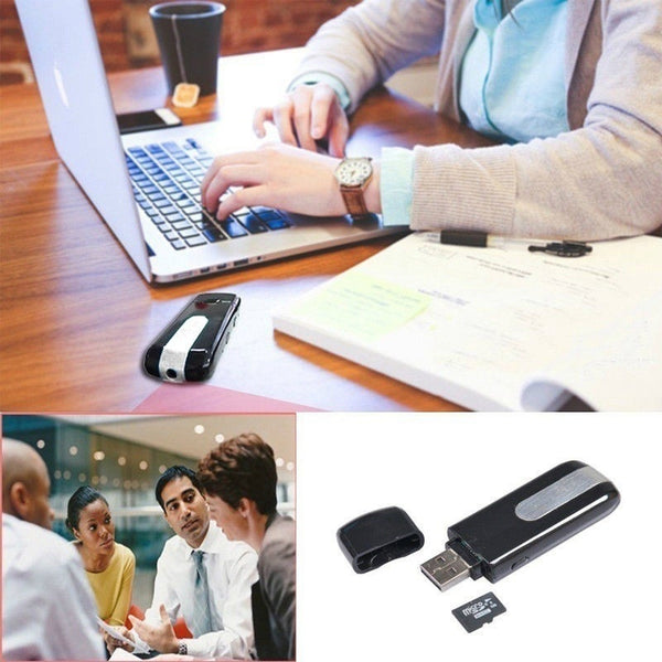 32GB Mini USB Flash Drive Disk Spy Hidden Camera HD DVR Video Recorder Camcorder - BeZONED