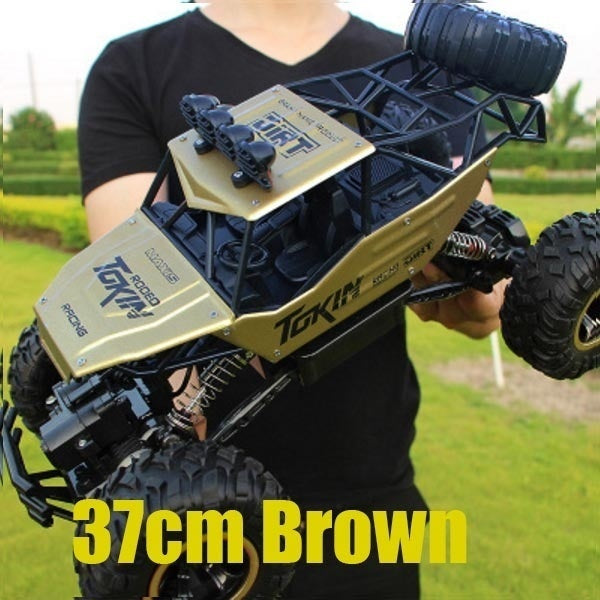 37cm 28cm Fashion High Quality Off-road Vehicle Toys 1:16 4WD RC Cars Alloy Speed 2.4G - BeZONED