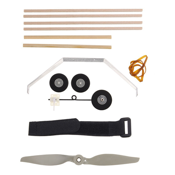 4CH EPP Plywood RC Training Airplane Radio Control Cessna Wingspan 960mm Kit Set - BeZONED